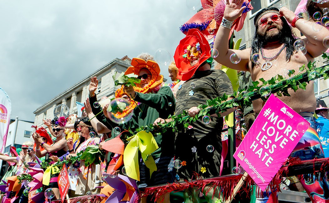 where to watch brighton pride 2018