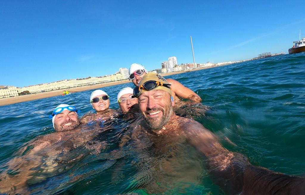solo swim from rampion