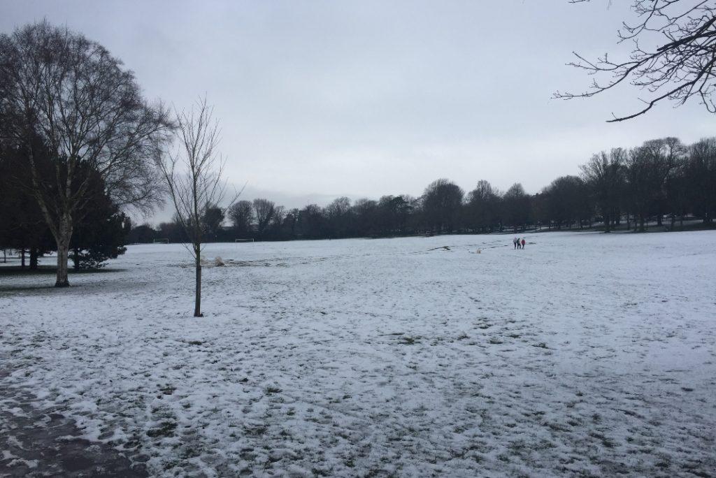 Preston Park - Snow images 1
