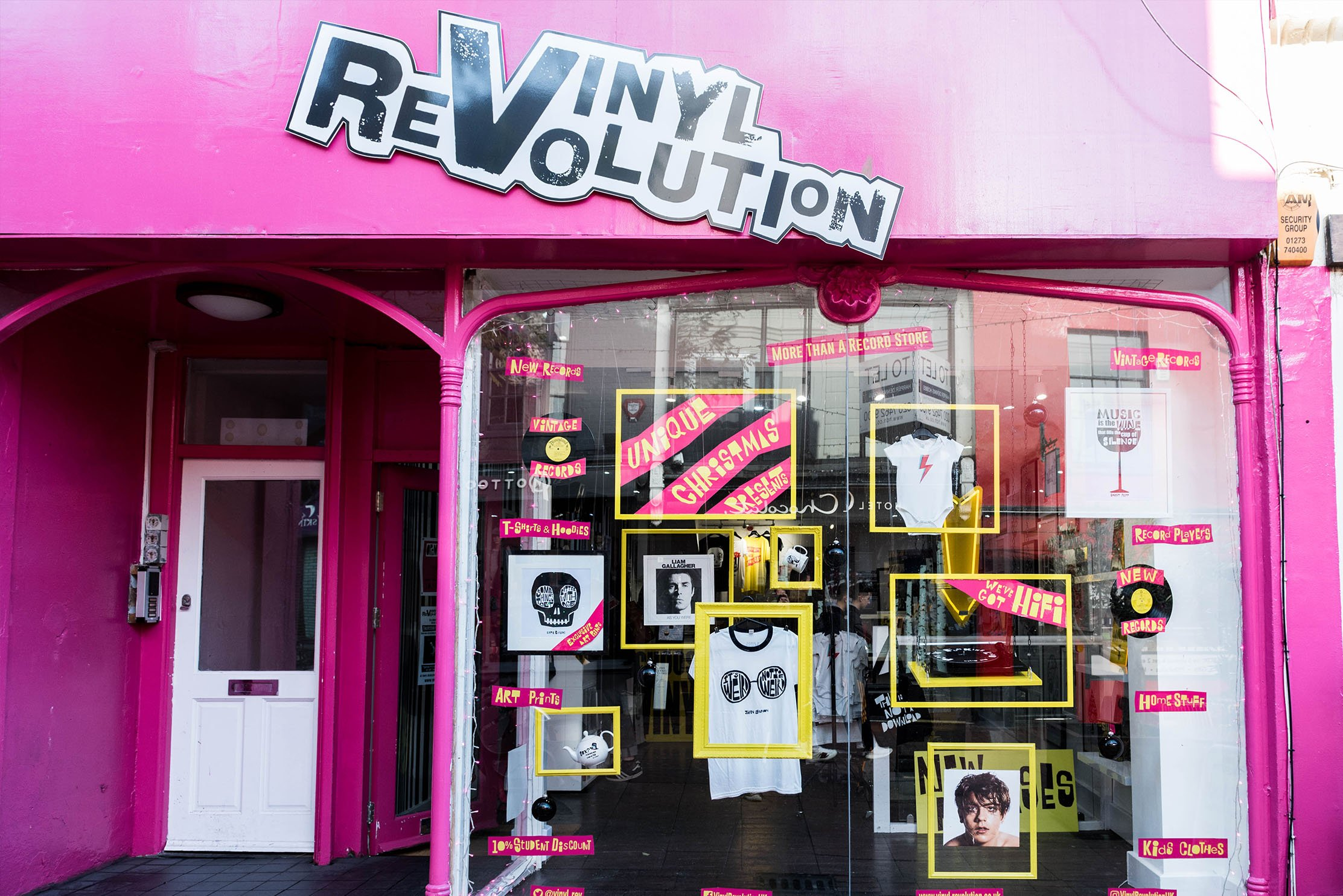 Vinyl Revolution exterior