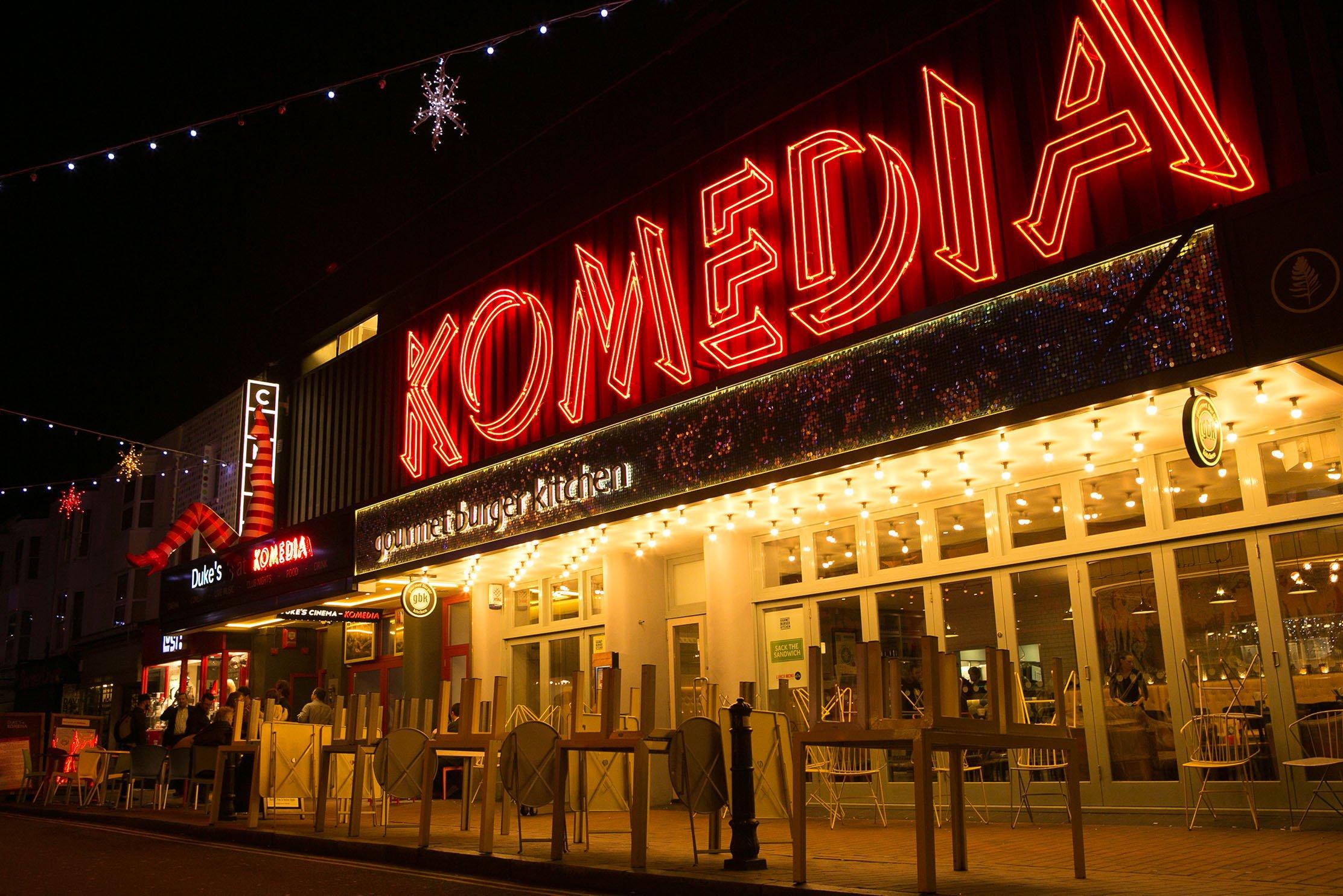 25 Years Of Komedia - by Matthew Andrews