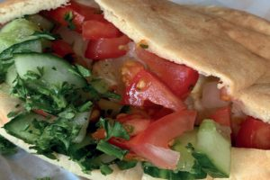 Lucy Hallett hits Brighton's The Free Haus, to sample the tasty and authentic Cypriot treats from Papa Pitta.