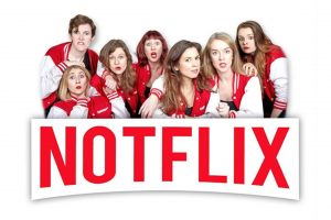 Matthew Hughes laughs along with Waiting For The Call's improv show, Notflix, as it comes to Brighton Fringe 2019