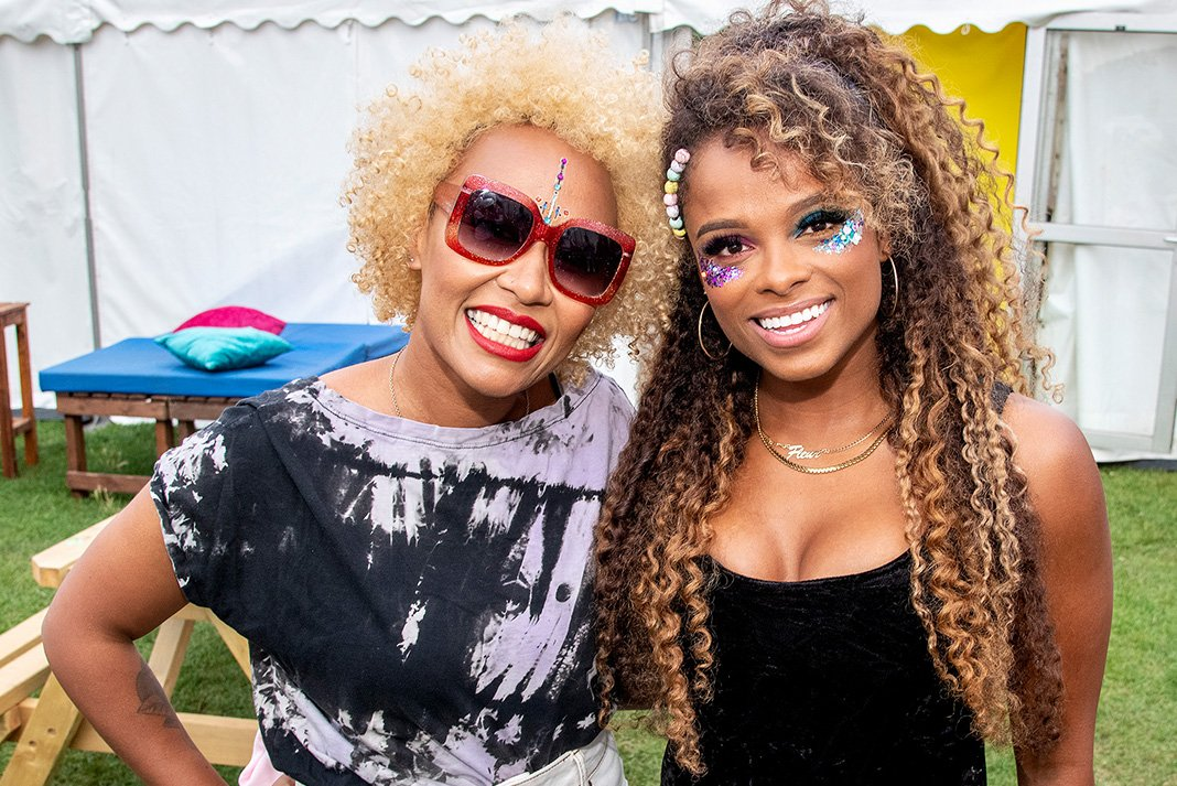 Fleur East at Brighton Pride 2019