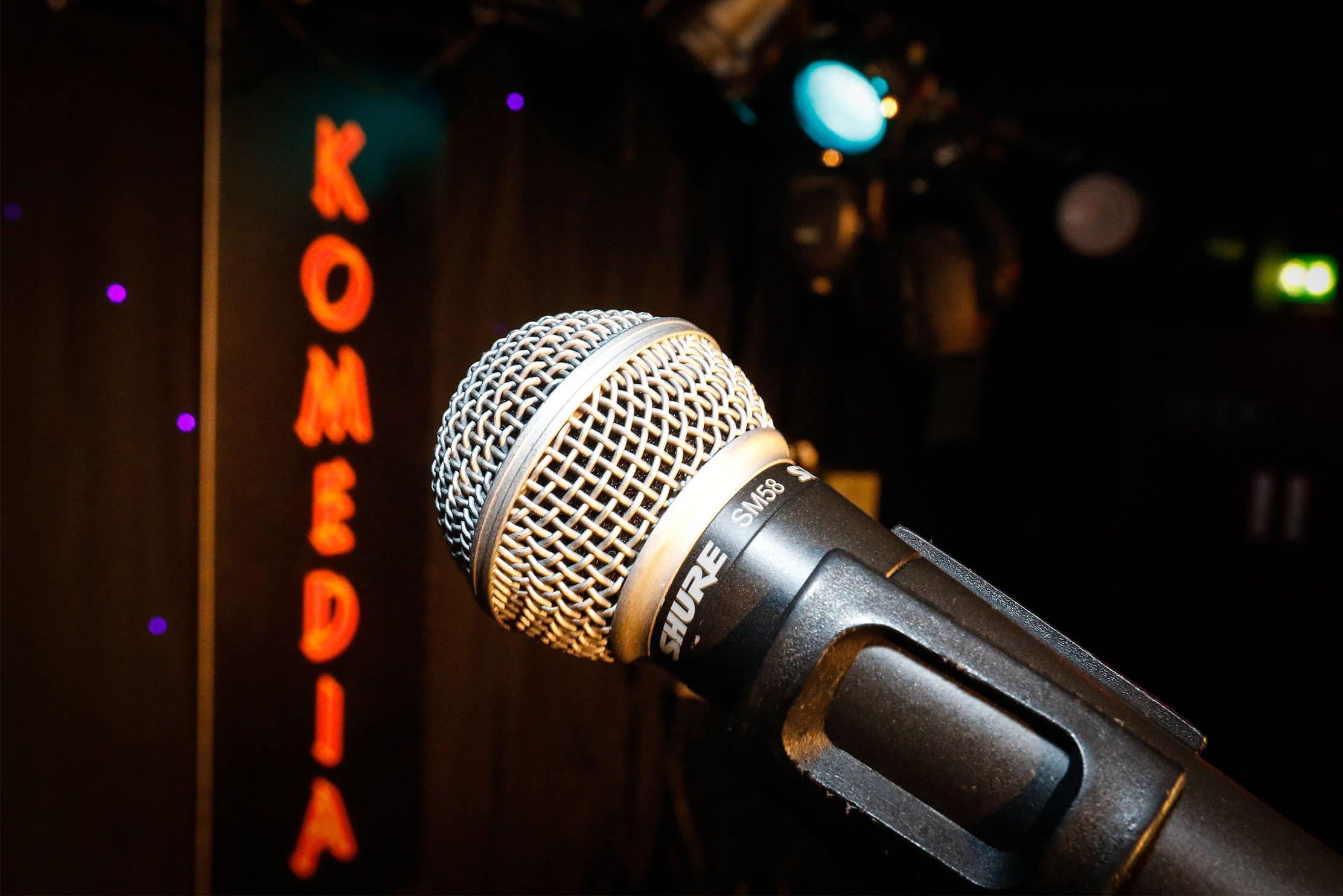 Komedia New comedy Award - (Credit Paul Mansfield)