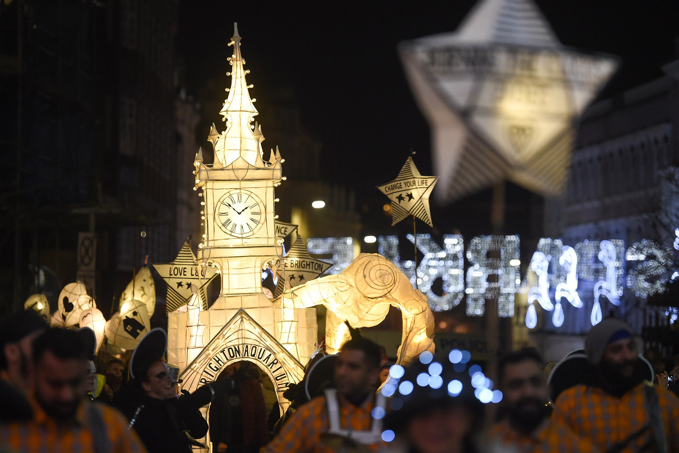 Burning The Clocks comes to the streets of Brighton on Sat 21 Dec 2019