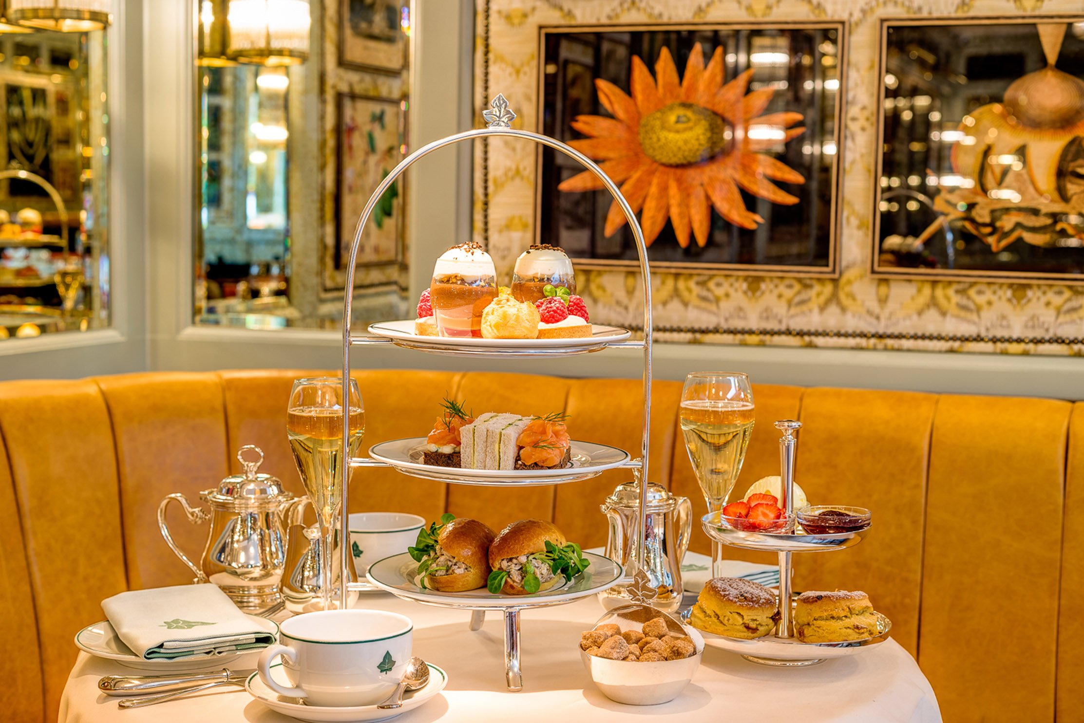 The Ivy in the Lanes and BN1 Magazine have teamed up to offer one of our lucky readers champagne afternoon tea for two