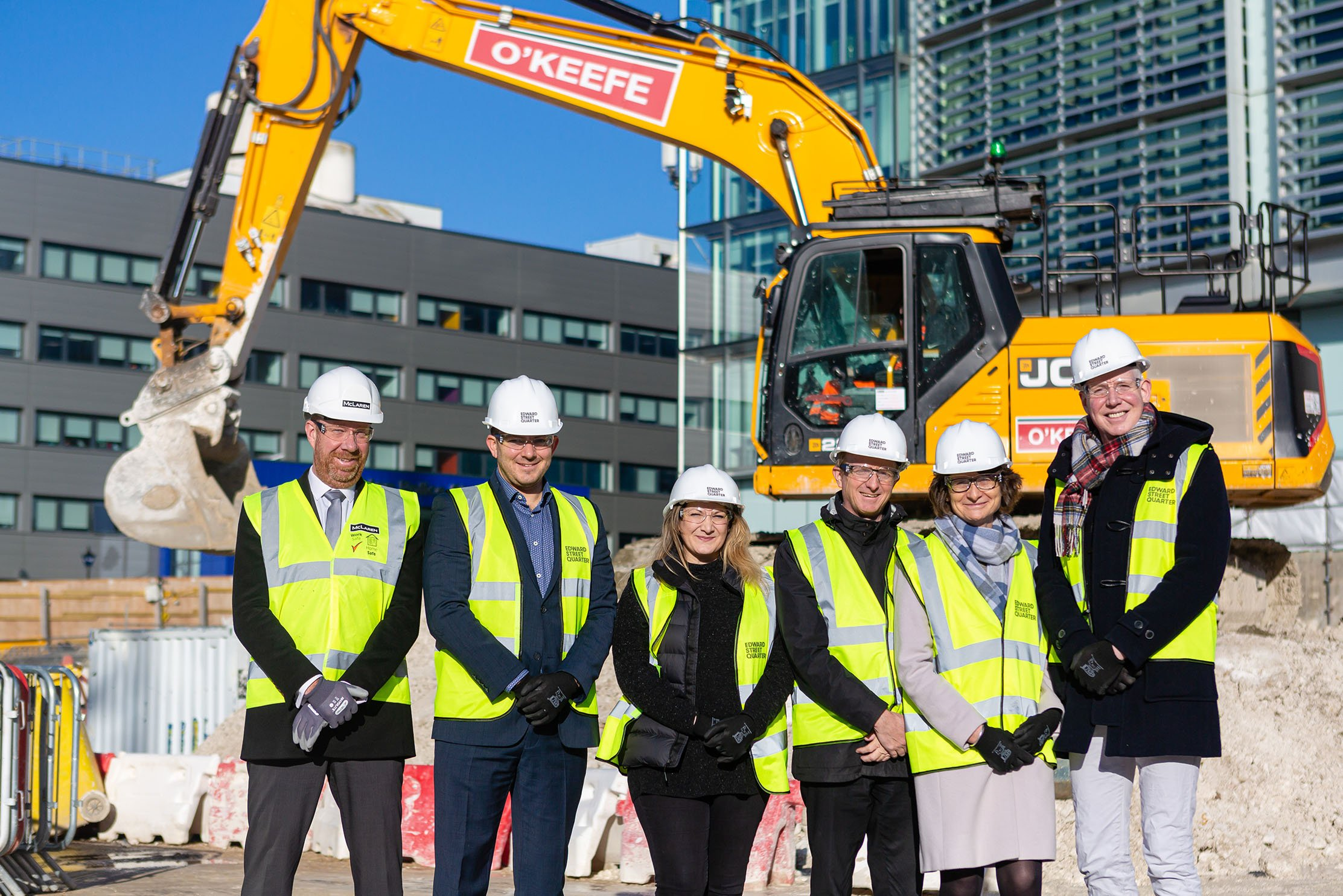 Work has begun at Edward Street Quarter, the £120m redevelopment of the ex-AMEX House site should be completed by Autumn 2021.
