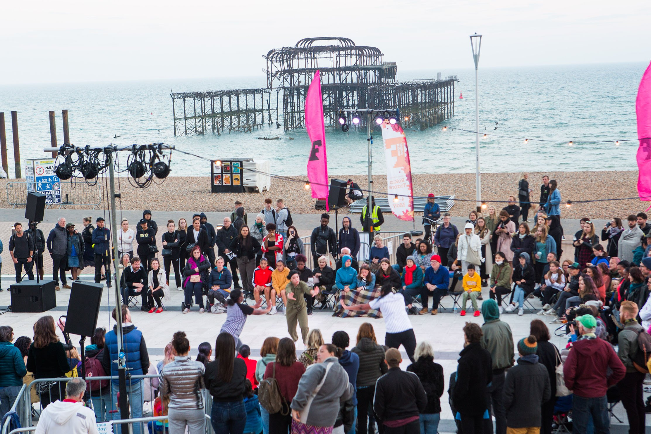 Lydia Wilkens reports back from the launch of Brighton Festival, 2020,