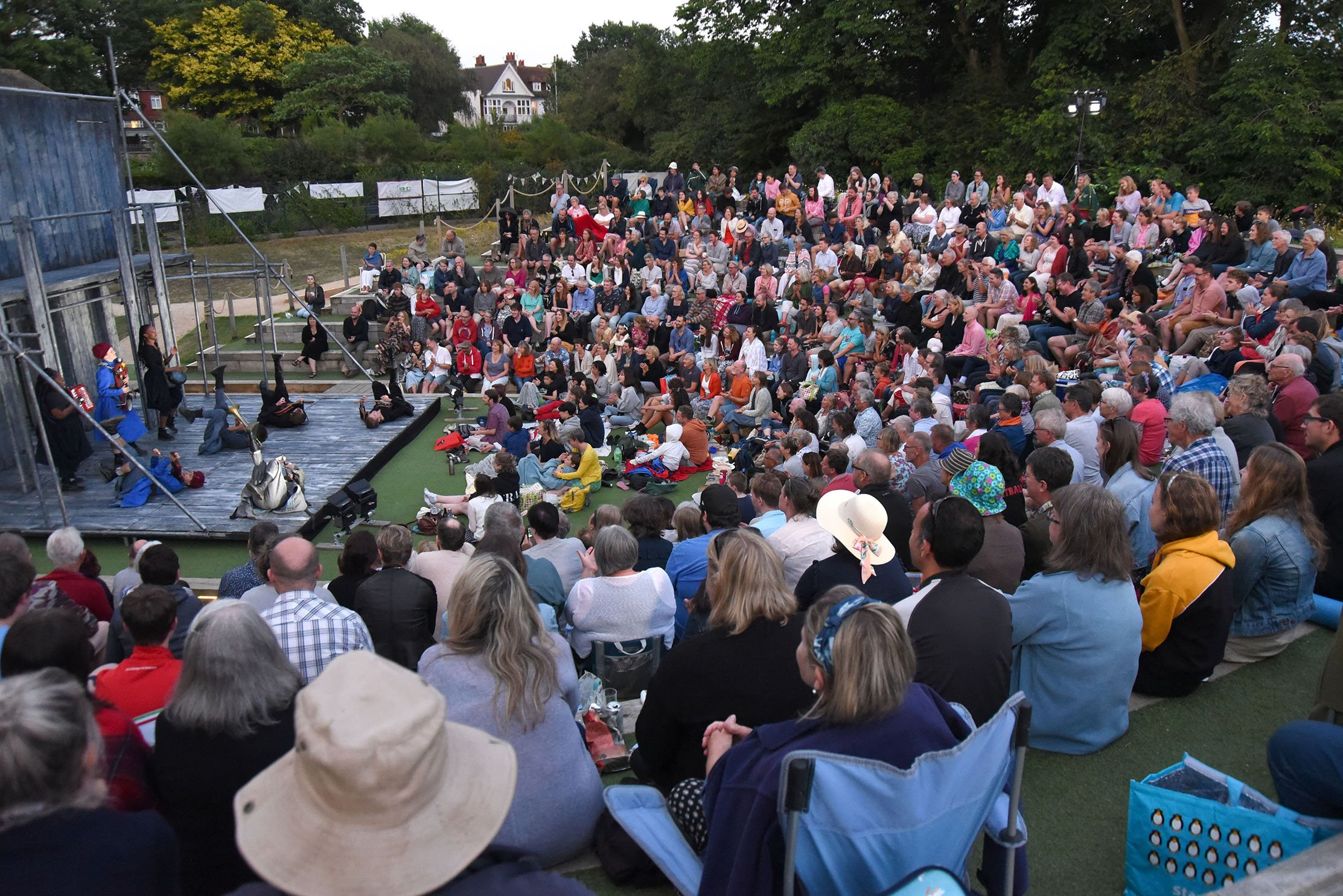 With a varied calendar of events, Brighton Open Air Theatre has announced its programme for Fri 1 May – Sun 27 Sept2020