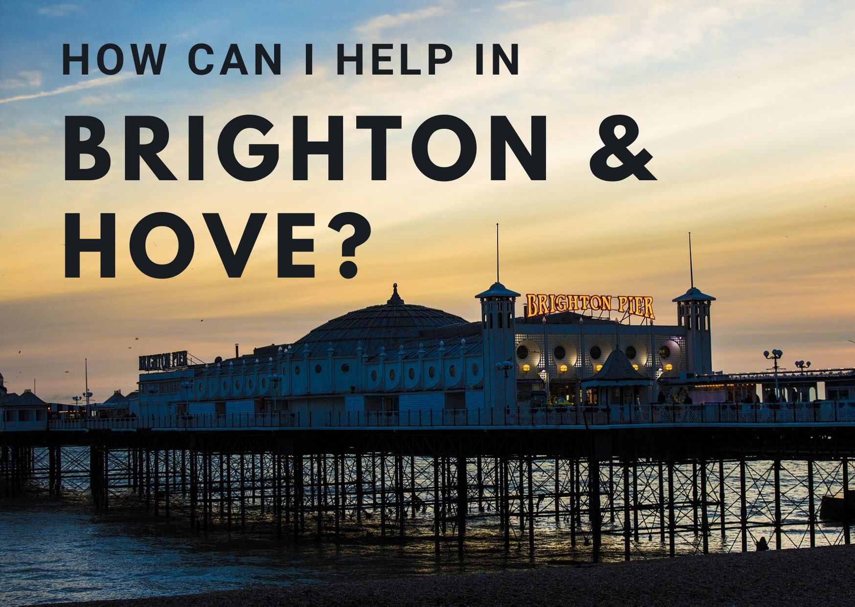 Brighton Hove coronavirus help