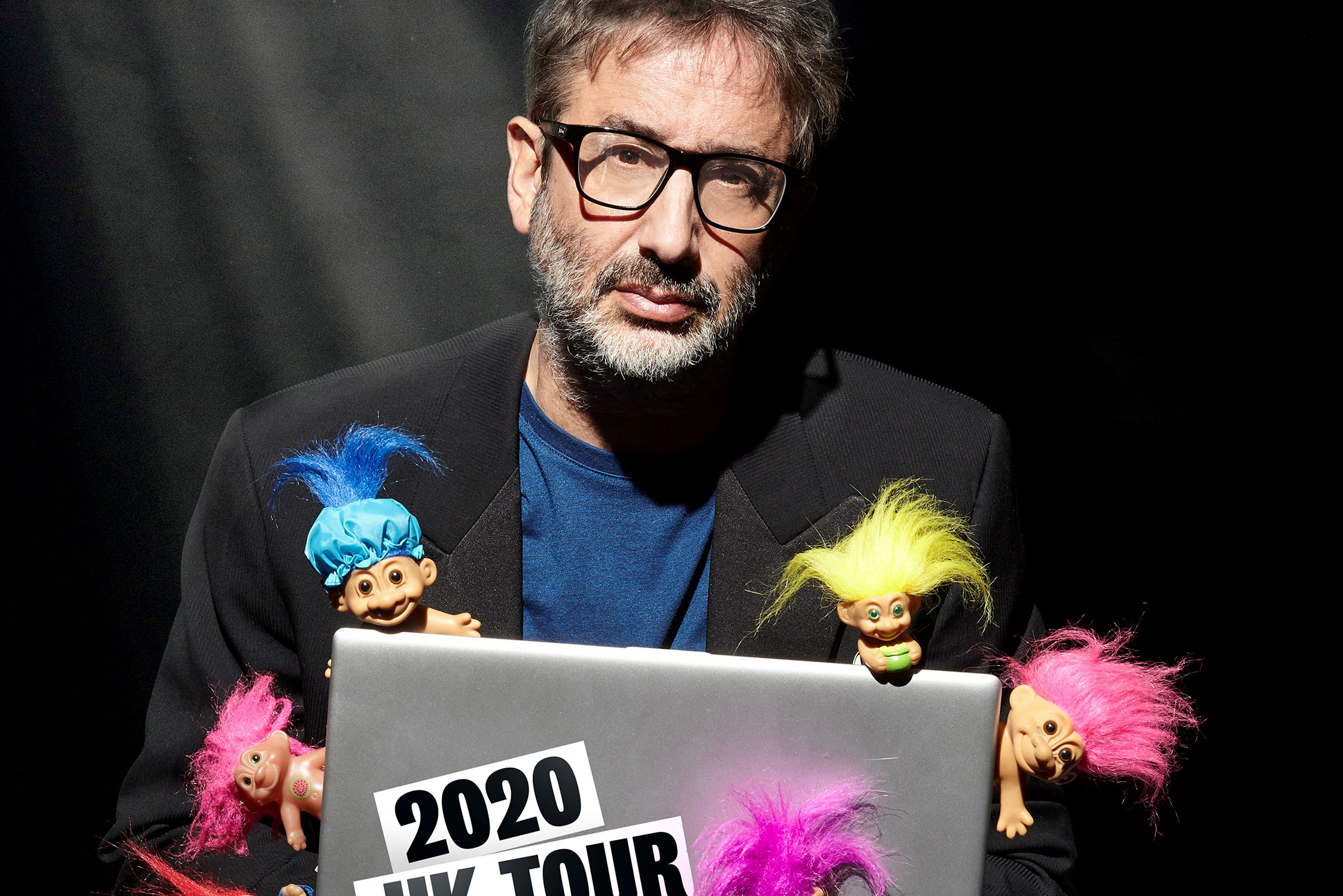 Elizabeth Rosenberg talks to comedian and broadcaster David Baddiel, as he brings his Trolls Not The Dolls tour to Theatre Royal Brighton on Sun 22 March 2020