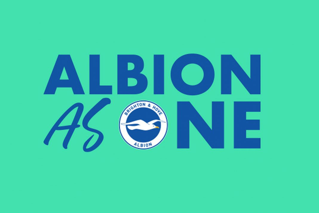 Brighton & Hove Albion's Albion As One charity fund has kicked off with a staggering donation of £263,939 from the club's players and directors