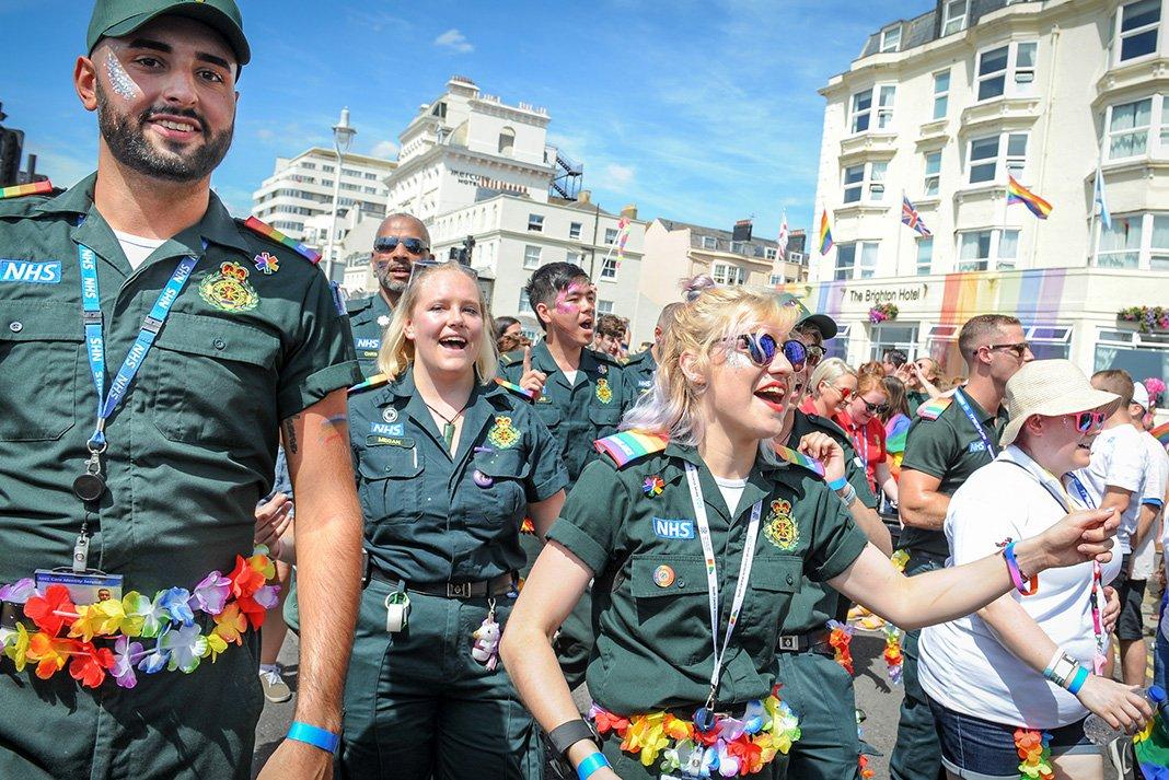 Brighton Pride 2020 NHS