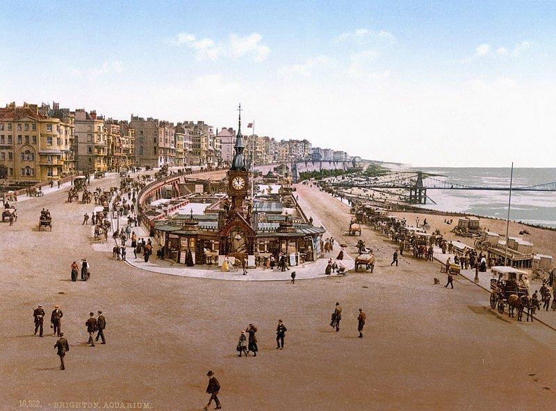 Brighton Aquarium before 1896