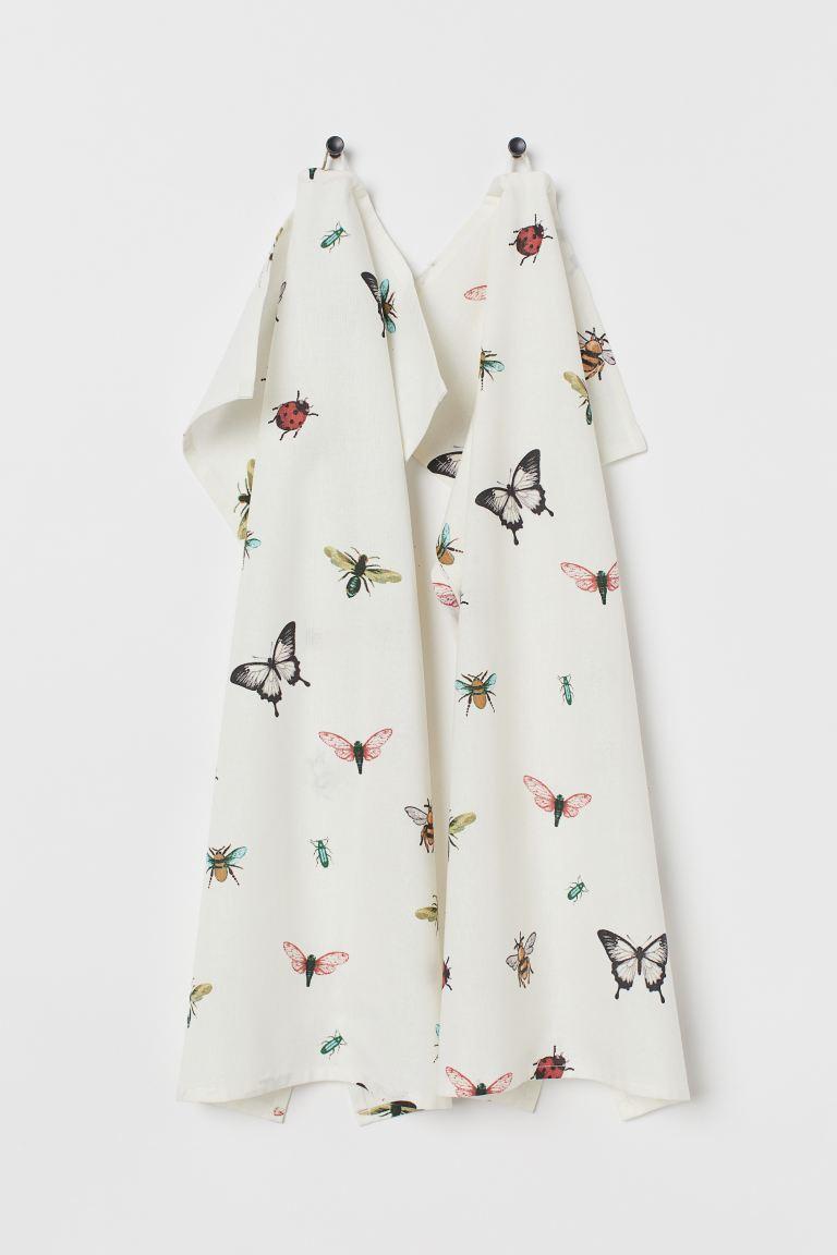 Butterfly Tea-towels - H&M