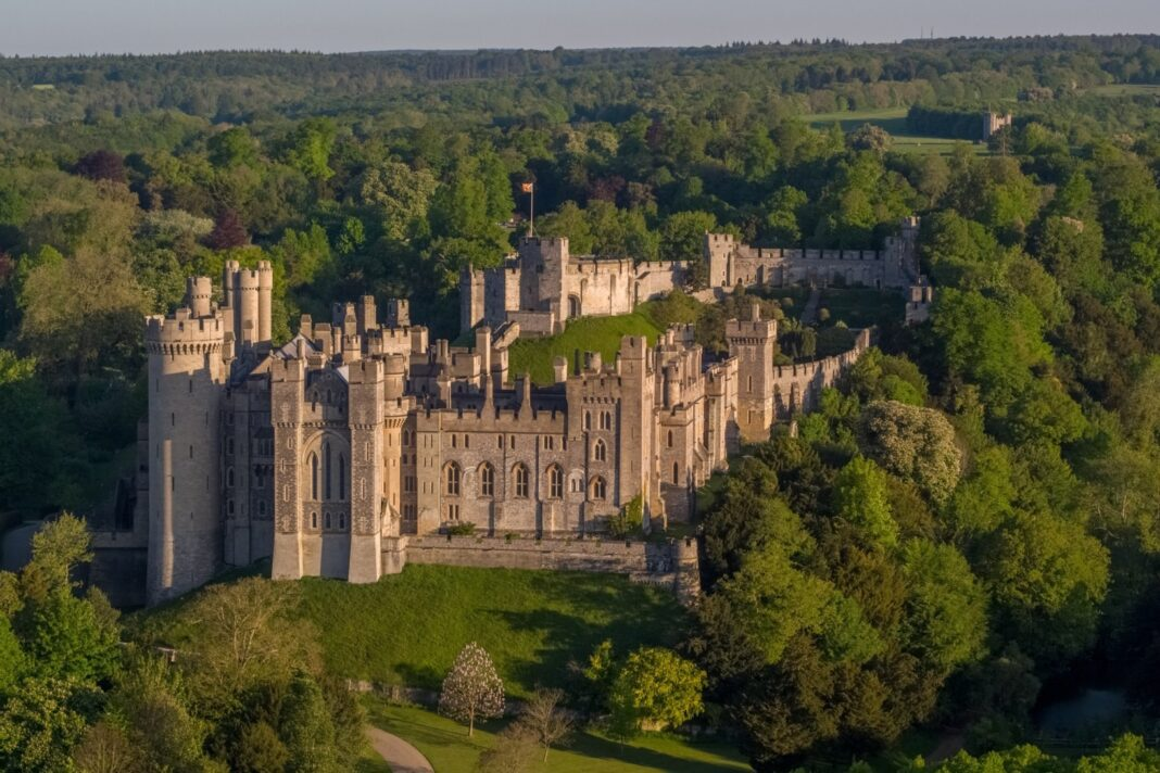 Arundel Castle - photo by Visual Air