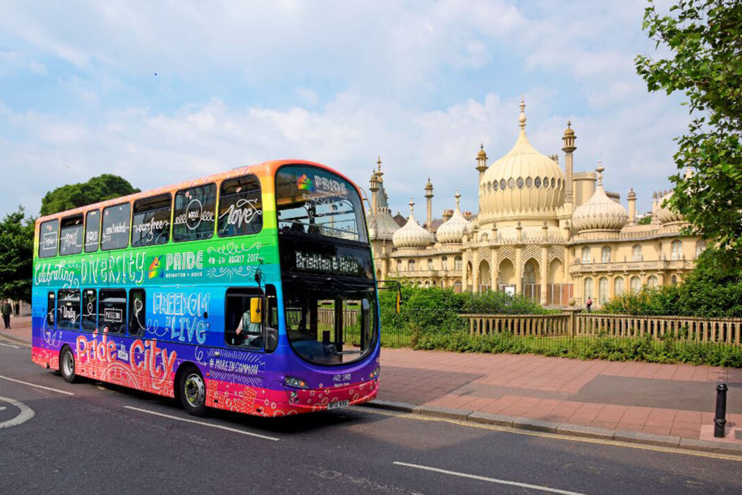 Brighton & Hove and Metrobus' Managing Director Martin Harris has joined Pride, Brighton & Hove City Council and police and asked people not to gather in large numbers at unofficial events for Brighton Pride this weekend