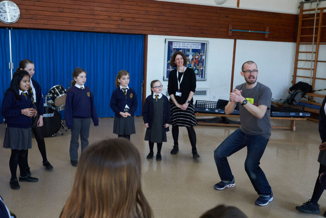 Brighton schoolchildren and composer James Redwood have written a new piece of music during lockdown, in a project run by UK charity Awards For Young Musicians