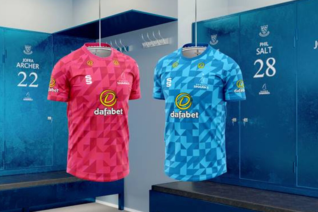 Sussex Cricket have revealed their new T20 and One-Day shirts