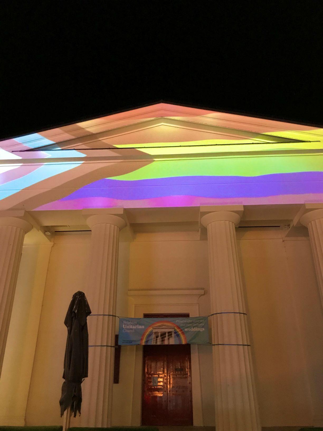 Brighton Unitarian church Pride 2020