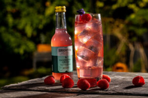 The award-winning Brighton Gin have released an all-natural and ready to drink Raspberry Crush version