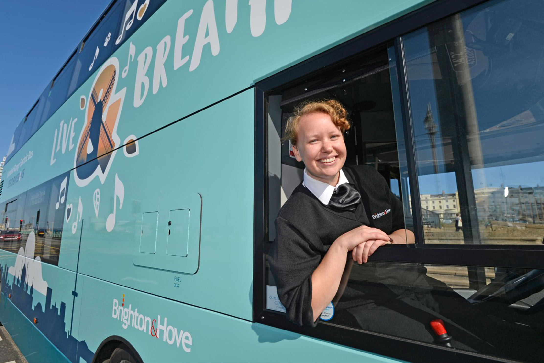 Brighton & Hove Buses have marked Clean Air Day with the delivery of more ultra-low emission vehicles