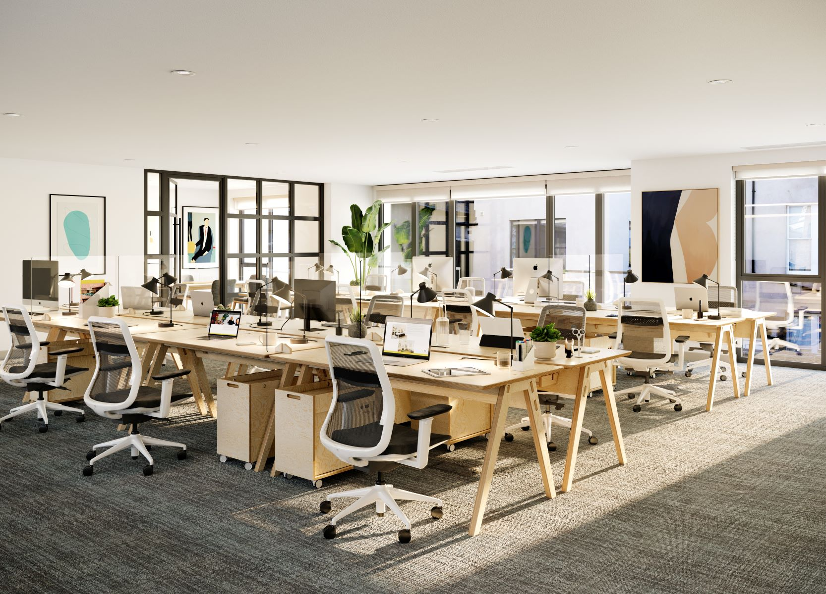 Projects First floor coworking