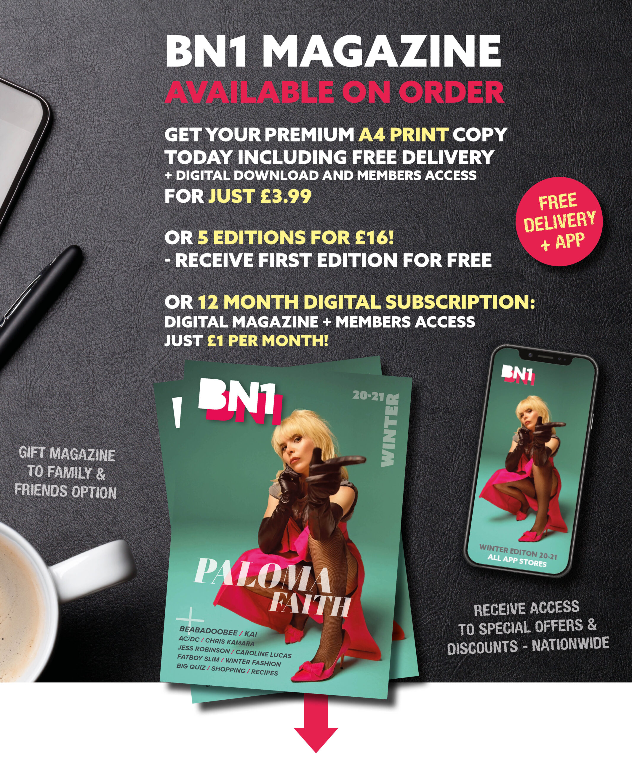 Subscribe to BN1 Magazine