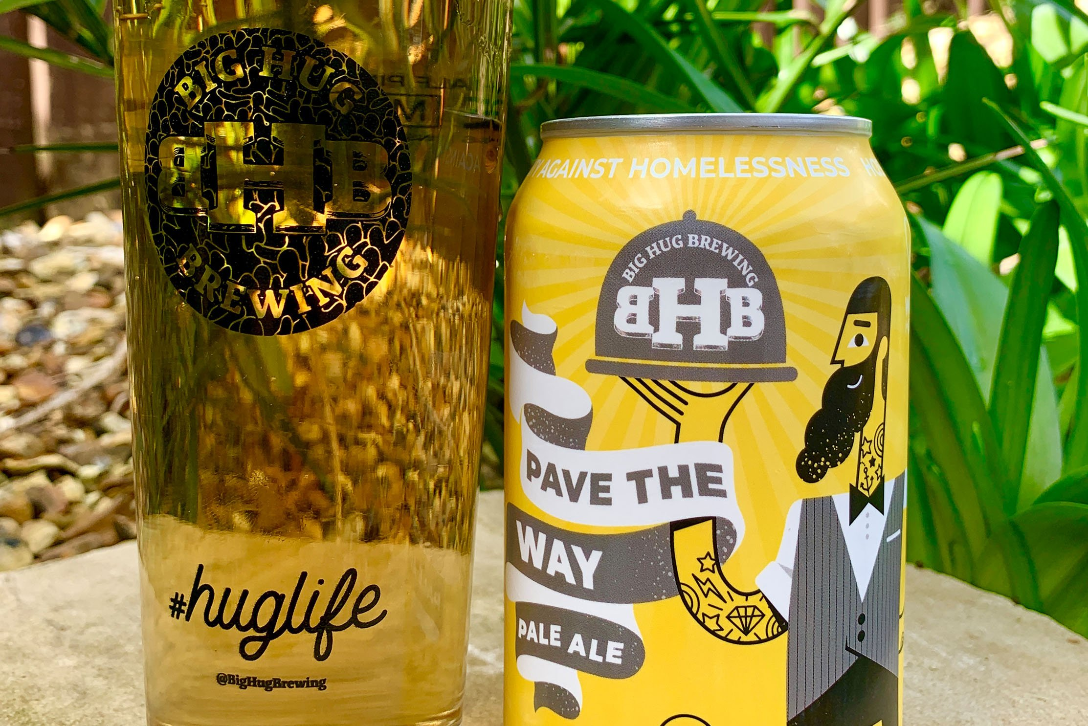 Brighton-based Big Hug Brewing has launched Pave The Way pale ale, to help support a national homeless charity