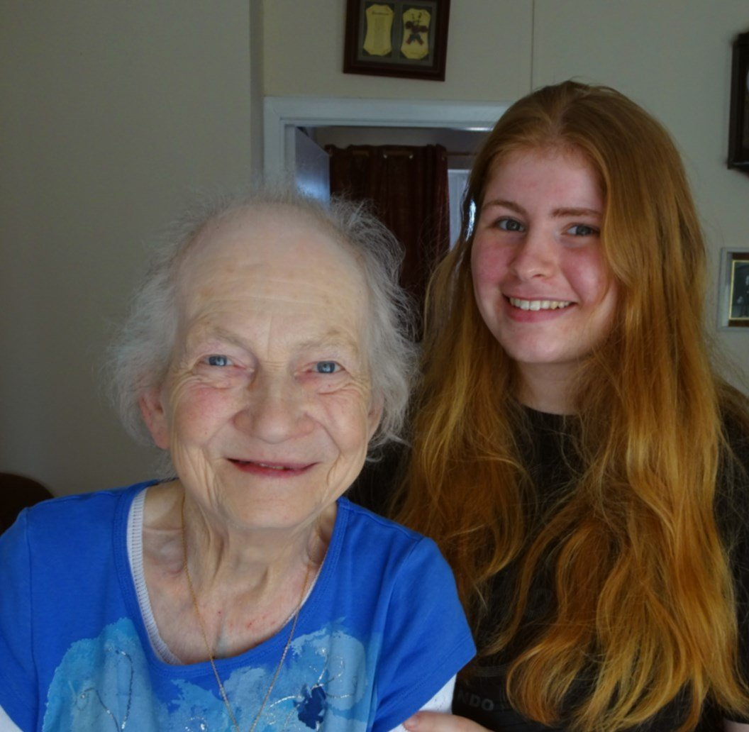 OrlaPhipps and Grandma Agnes