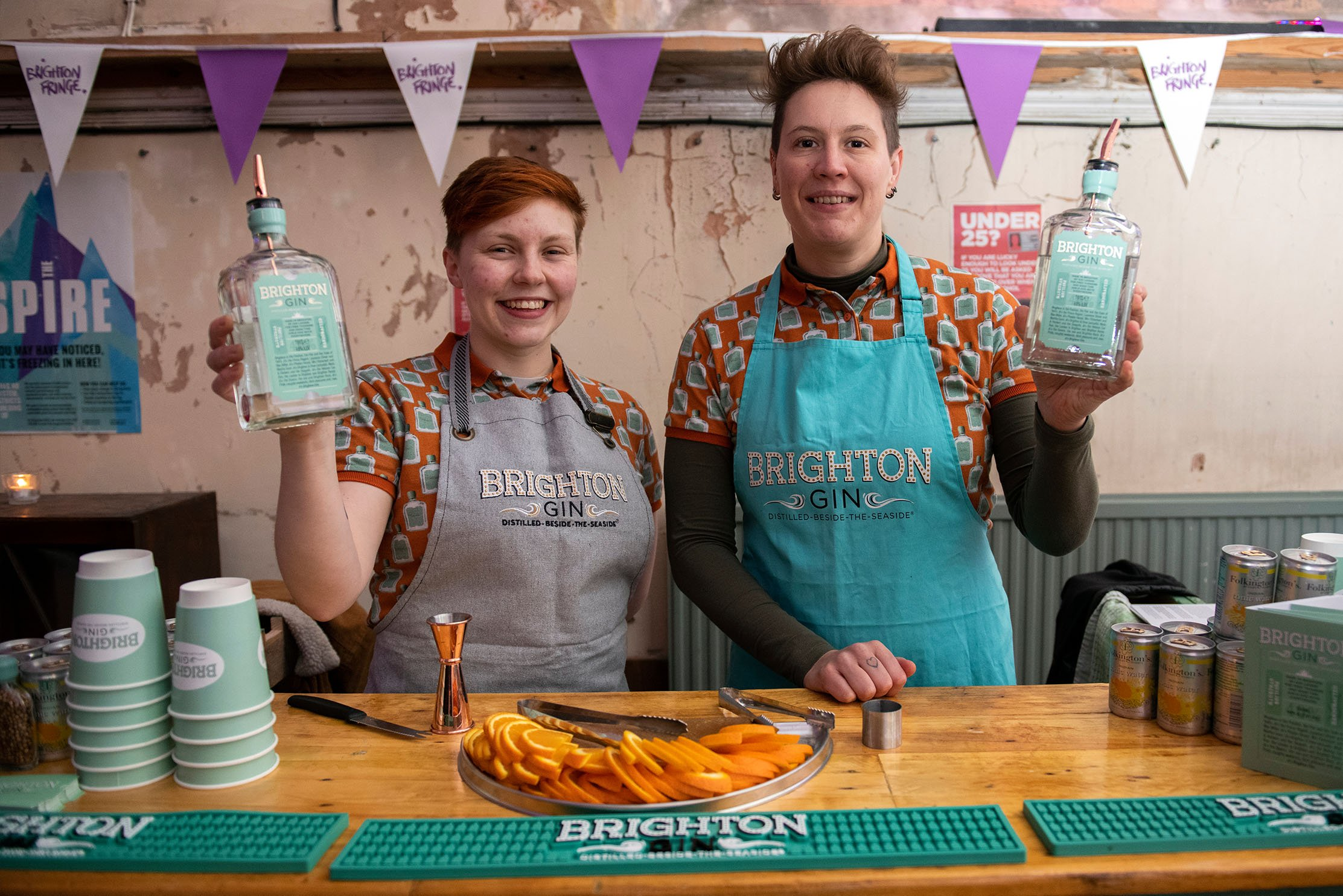 Fringe City, the traditional start to Brighton Fringe, comes to Brighton's Jubilee Square on Fri 28 - Sun 30 May 2021