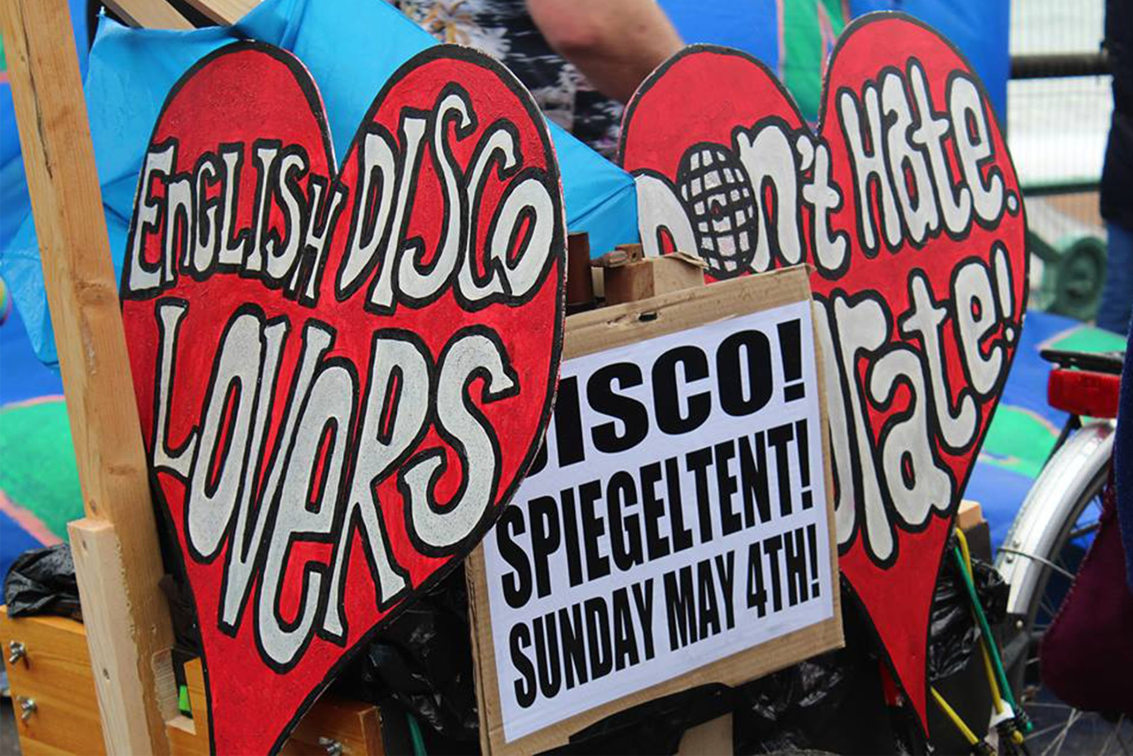 Infamous Brighton & Hove party starters, English Disco Lovers, return to Brighton Spiegeltent for another Fringe season