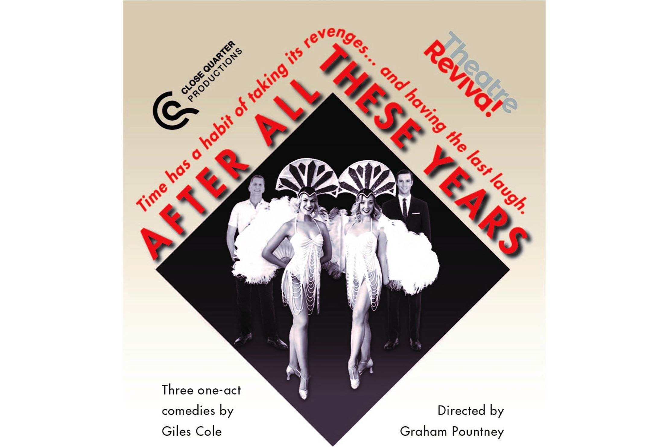 Close Quarter Productions and Theatre Reviva! bring After All These Years to Rialto Theatre, on Mon7 – Weds 9 June 2021, as part of Brighton Fringe