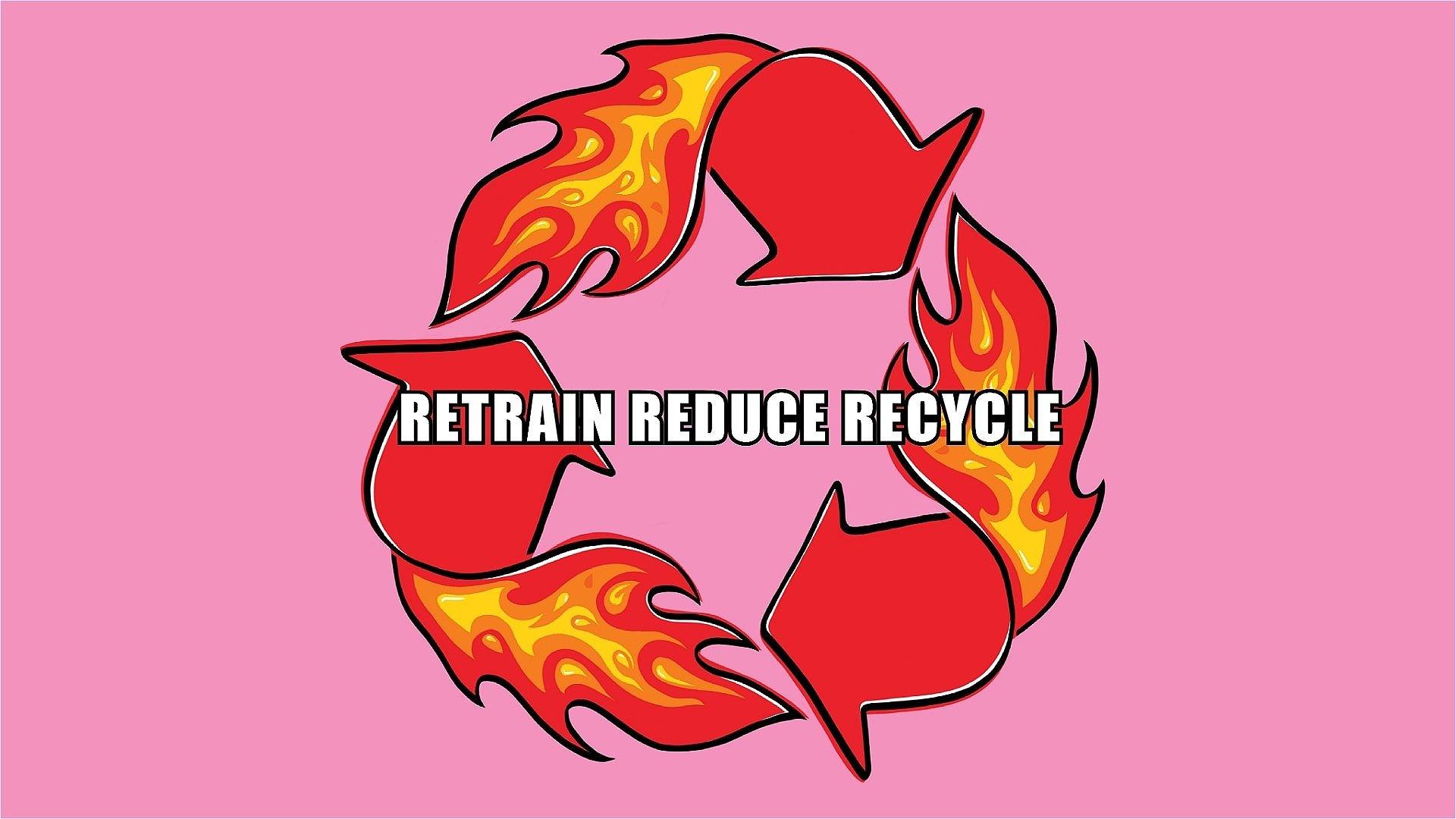 Retrain Reduce Recycle Brighton Fringe
