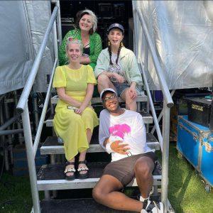 Sarah Pascoe, Aisling Bea, Tadiwa Mahlunge, Kiri Pritchard-Mclean at Brighton Comedy Garden 2021