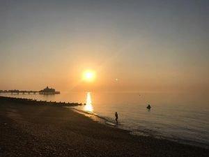 Eastbourne Beach - credit Matthew Roach