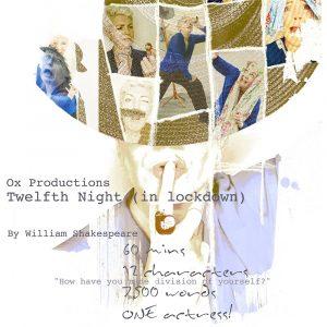 flyer, camden, fringe, twelfth night, acting, perfomance, shakespeare