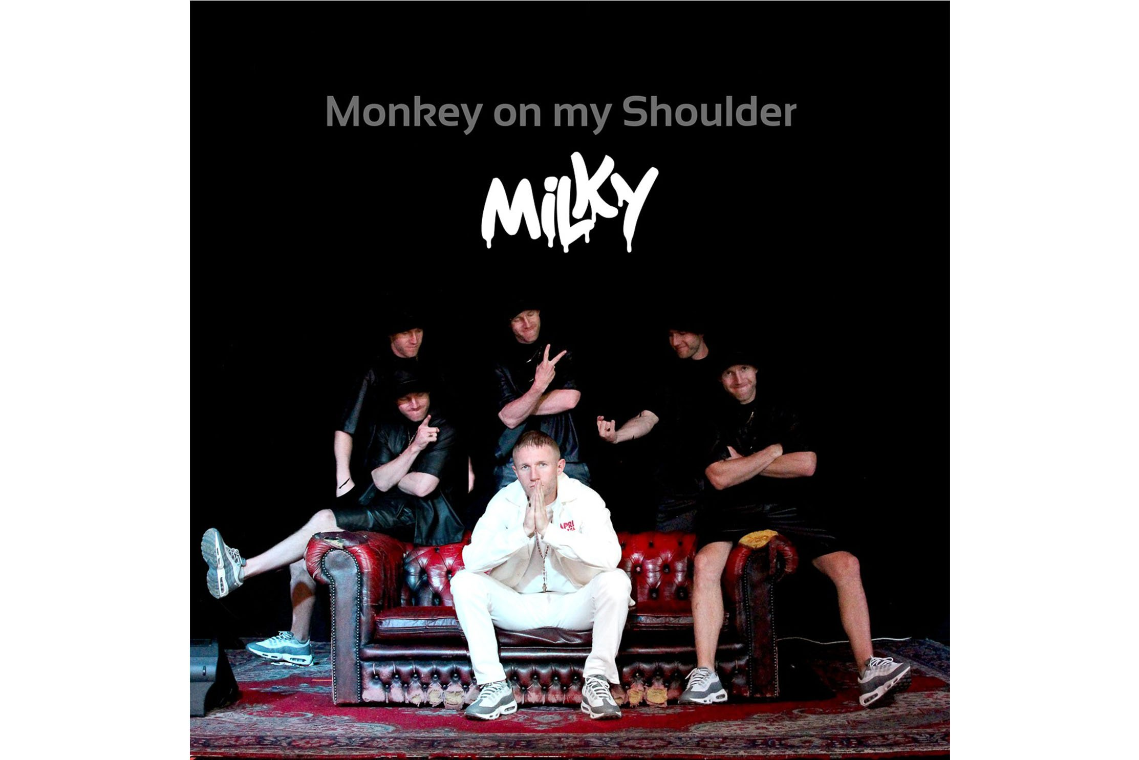 Brighton Hip-Hop artist Milky has released his new single, Monkey on My Shoulder, which shares the reality of living with addiction