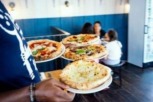 pizza, brighton, serving, restraunt