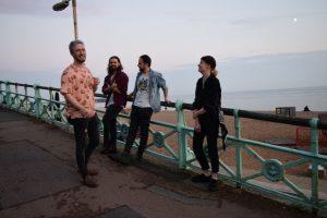 FoxyWombat Brighton Band Indie Rock Live Music