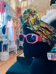 North Laines, Brighton, vintage shop clothes Snoopers Paradise