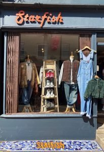North Laines, Brighton, vintage shop clothes, Starfish