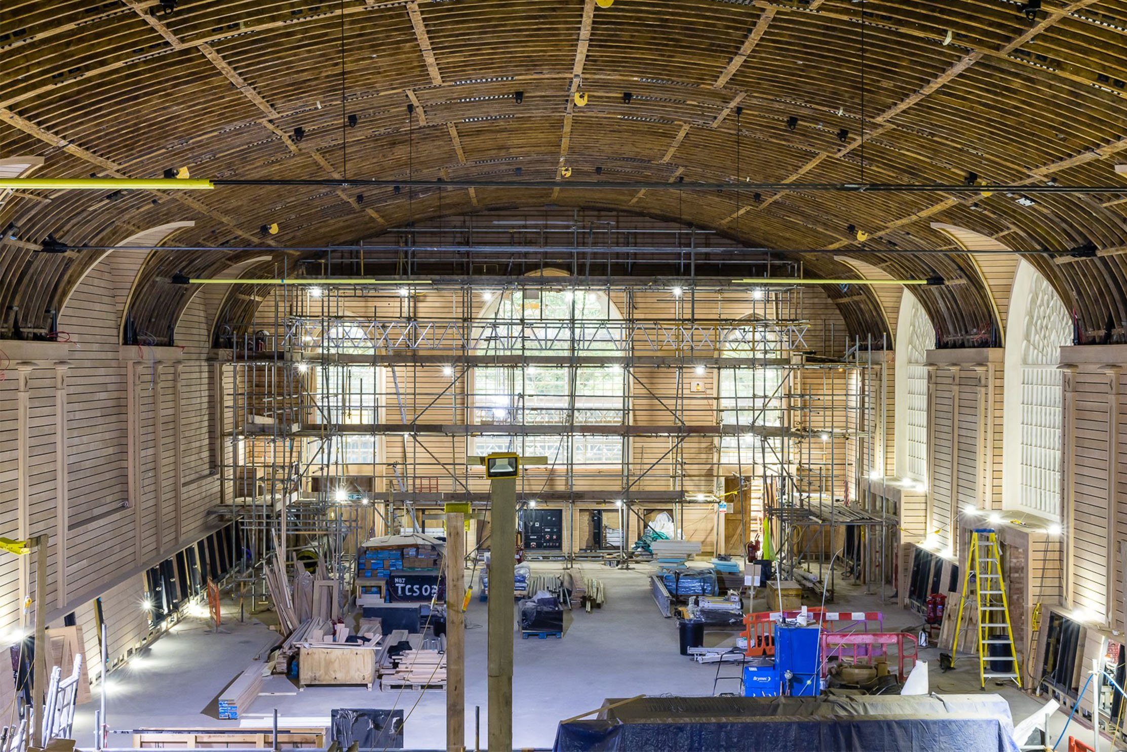 The refurbishment of Brighton Dome's iconic Corn Exchange has completed extensive repairs to keep this 200-year-old Grade I listed building safe, and preserved.